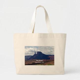 The Priest: Moab, Utah Jumbo Tote Bag