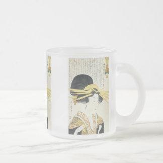The Prim Type, Utamaro, 1800 Mug