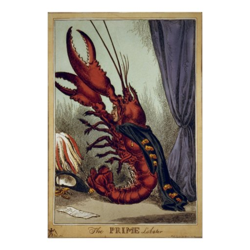 The Prime Lobster Print