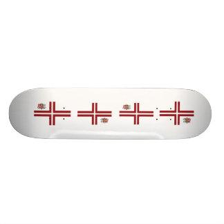 the Prime Minister Latvia, Latvia 21.6 Cm Skateboard Deck