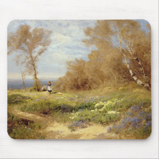 The Primrose Gatherers Mouse Pad