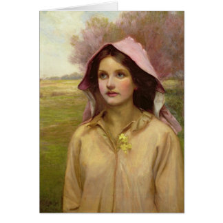 The Primrose Girl Greeting Card