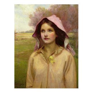 The Primrose Girl Postcard