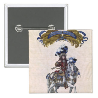 The Prince of Conde 15 Cm Square Badge