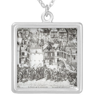 The Prince of Orange Silver Plated Necklace