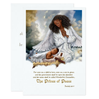The Prince of Peace. Flat Christmas Cards 13 Cm X 18 Cm Invitation Card