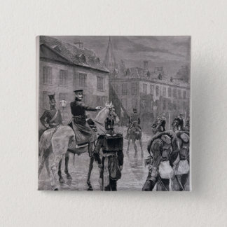 The Prince of Prussia 15 Cm Square Badge