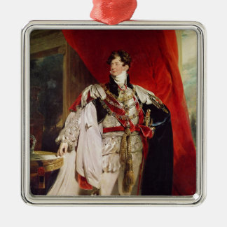 The Prince Regent, later George IV Christmas Ornament