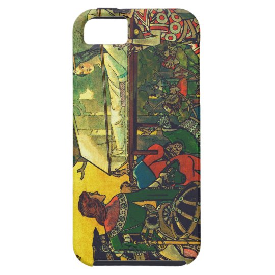 The Prince & the Glass Coffin, Franz Jüttner iPhone 5 Cover
