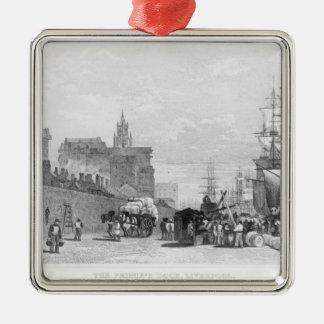 The Prince's Dock, Liverpool Christmas Ornament