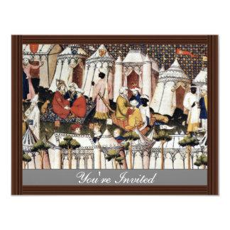 """The Princes Of The Orient"""" By Meister Der 'Cité D 11 Cm X 14 Cm Invitation Card"""
