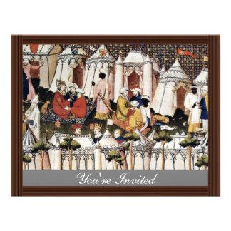 The Princes Of The Orient By Meister Der Cité D Personalized Invitation