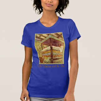 The Princess and the Pea Ladies Petite T-Shirt