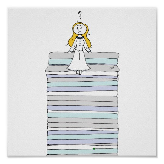 The Princess and The Pea Poster