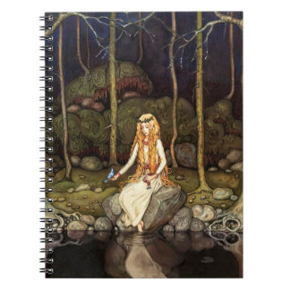 The Princess in the Forest Spiral Notebook
