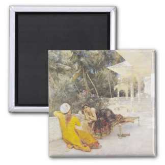 The Princess of Bengal, c.1889 Square Magnet