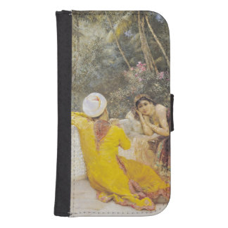 The Princess of Bengal, c.1889 Samsung S4 Wallet Case