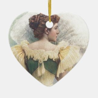 The Princess Of The Asturias Ceramic Heart Decoration