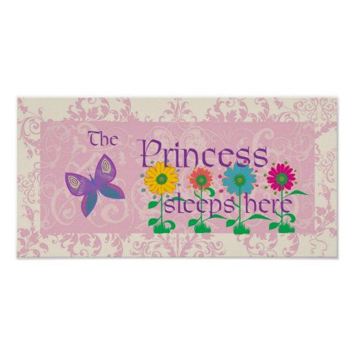 The Princess Sleeps Here Poster