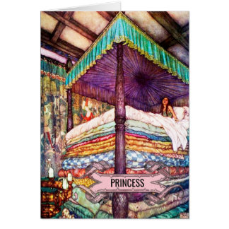 The Princess & The Pea #2 Greeting Card
