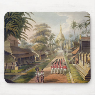 The Principal Approach to the Great Dagon Pagoda a Mouse Pad