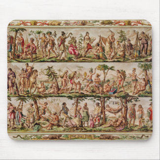 The Principal Peoples of the Americas, c.1798-99 Mouse Mat