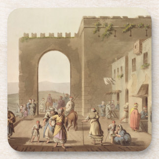 The Principal Street in Bethlehem, from 'Views of Coaster