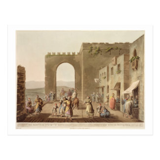The Principal Street in Bethlehem, from 'Views of Postcard