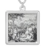 The Principle Religions of the World Silver Plated Necklace