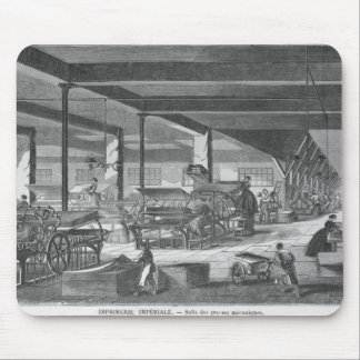 The printing presses room mouse mat