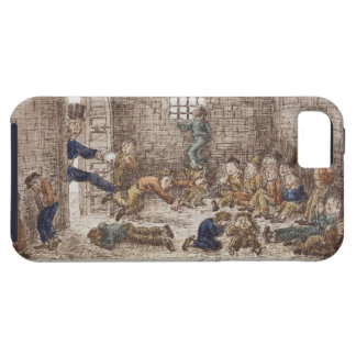 The Prison, 1858 (coloured engraving) iPhone 5 Cover