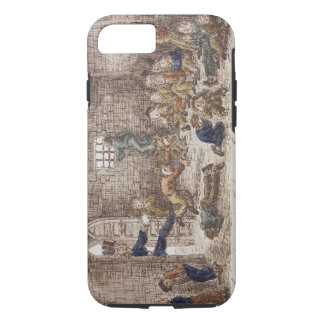 The Prison, 1858 (coloured engraving) iPhone 8/7 Case