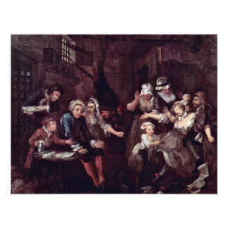 """The Prison """" By Hogarth William (Best Quality) Announcement"""