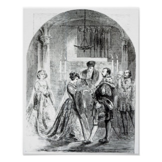 The Private Marriage of Anne Boleyn Print