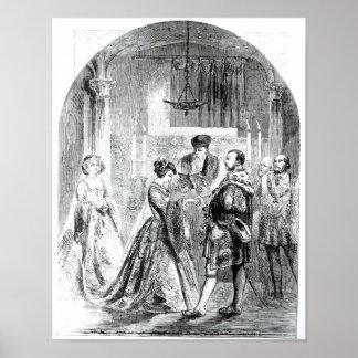 The Private Marriage of Anne Boleyn Print