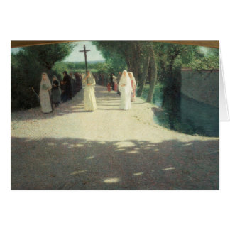 The Procession, 1892-95 Greeting Cards