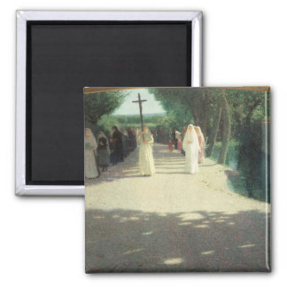 The Procession, 1892-95 Fridge Magnets