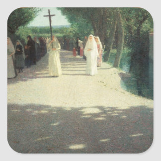 The Procession, 1892-95 Stickers
