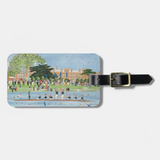 The Procession of Boats at Eton College Luggage Tag