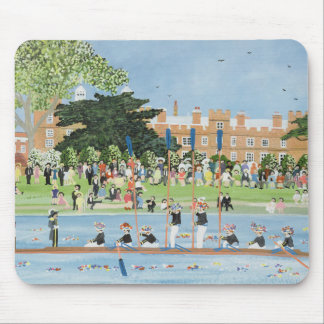 The Procession of Boats at Eton College Mouse Pad