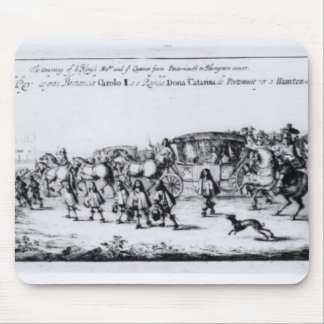 The Procession of Charles II Mouse Mat