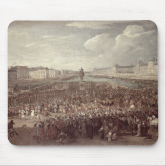 The Procession of Louis XIV (1638-1715) across the Mouse Mat