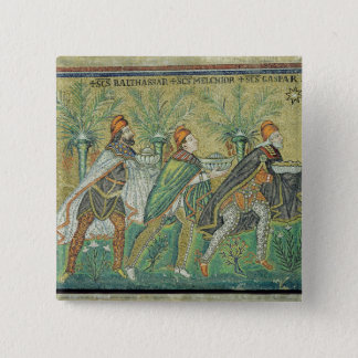 The procession of the three kings 15 cm square badge