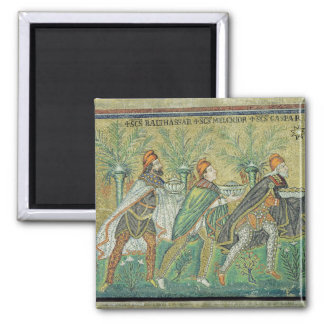 The procession of the three kings magnet