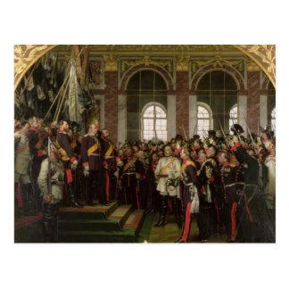 The Proclamation of Wilhelm Postcard