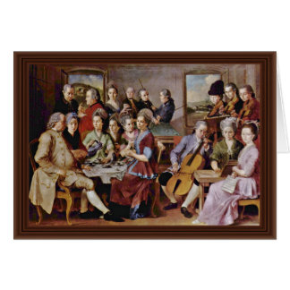 The Procuress By Johannes Vermeer Card