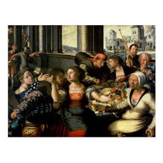 The Prodigal Son, 1536 Postcard