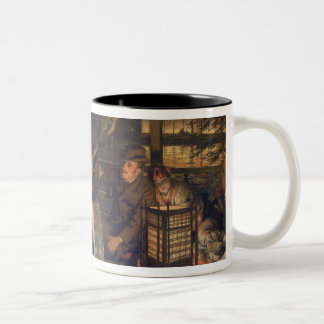 The Prodigal Son in a Foreign Land, 1880 Two-Tone Coffee Mug