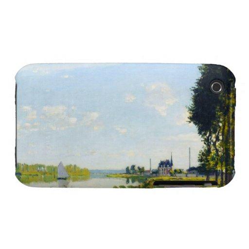 The Promenade at Argenteuil  Claude Monet Case-Mate iPhone 3 Cases