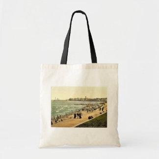 The promenade, Margate, England rare Photochrom Tote Bag